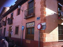 Antes de la rehaabilitación de la fachada Madrid y Guadalajara